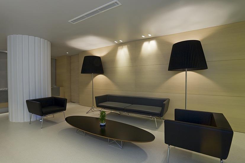 Iluminacion oficina BLUX