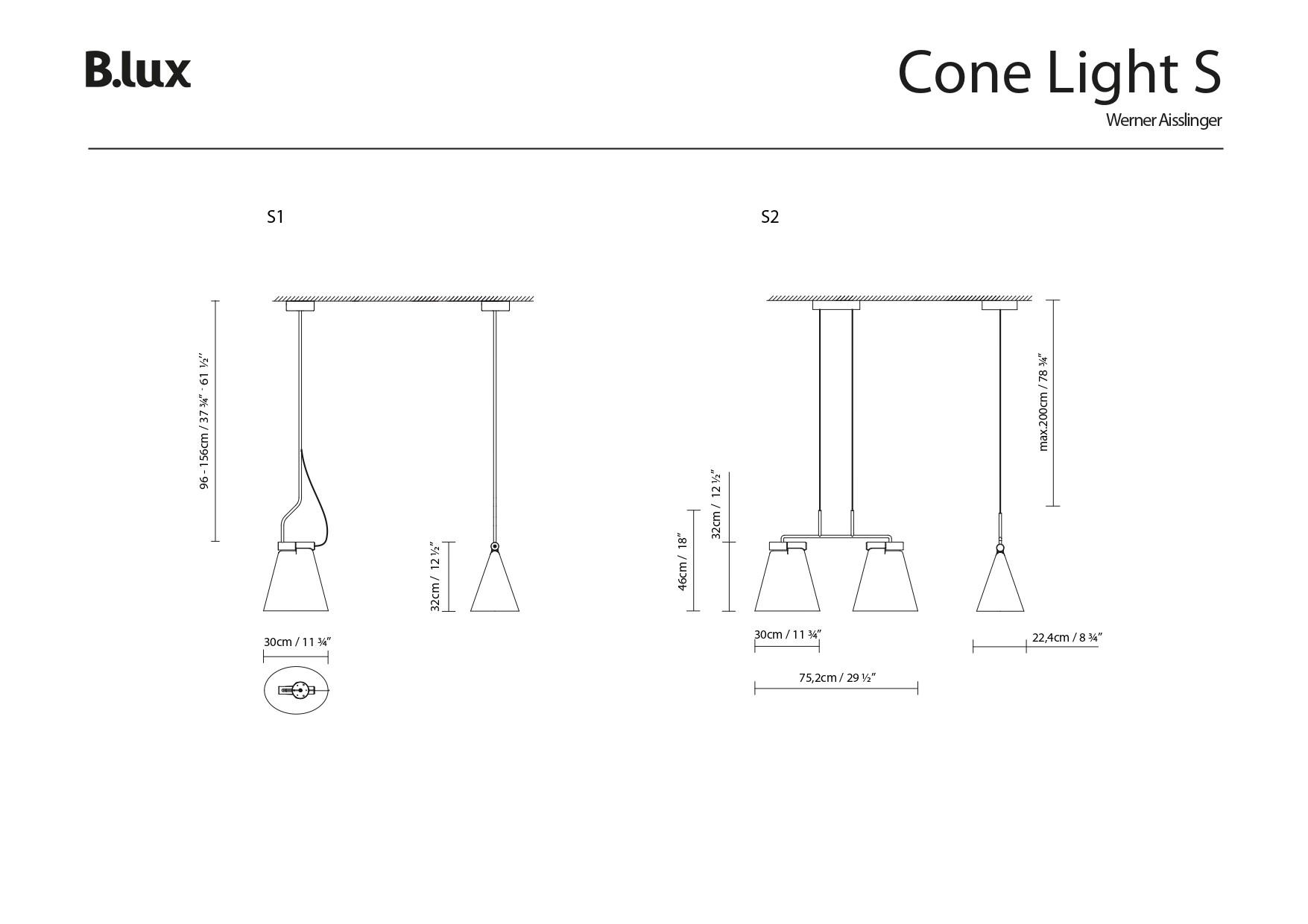 CONE LIGHT BLUX