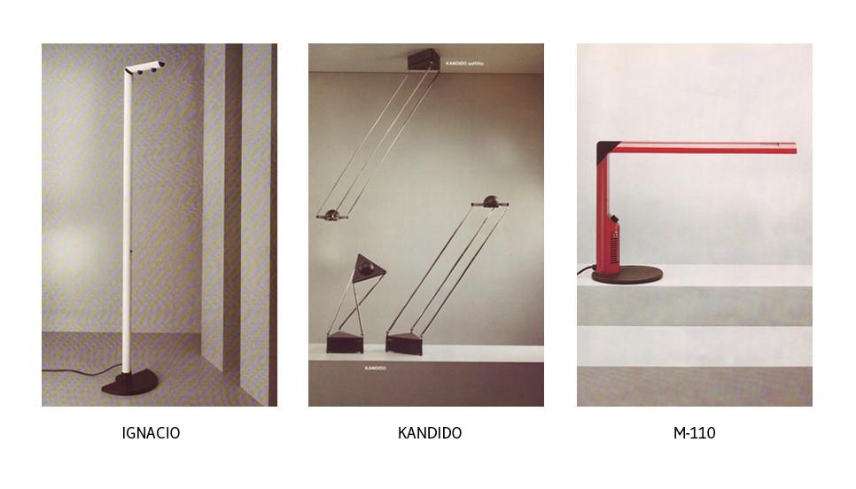 Lámparas Ignacio, Kandido y M-110 de B.lux.