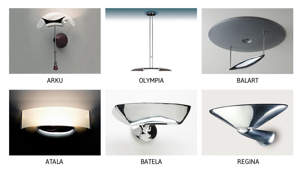Lámparas para hogar e instalaciones. B.lux