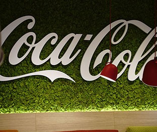 Büros von Coca-Cola
